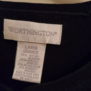 Sweaters - Worthington black sweater